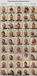 Expression sheet - Philip by B-rina