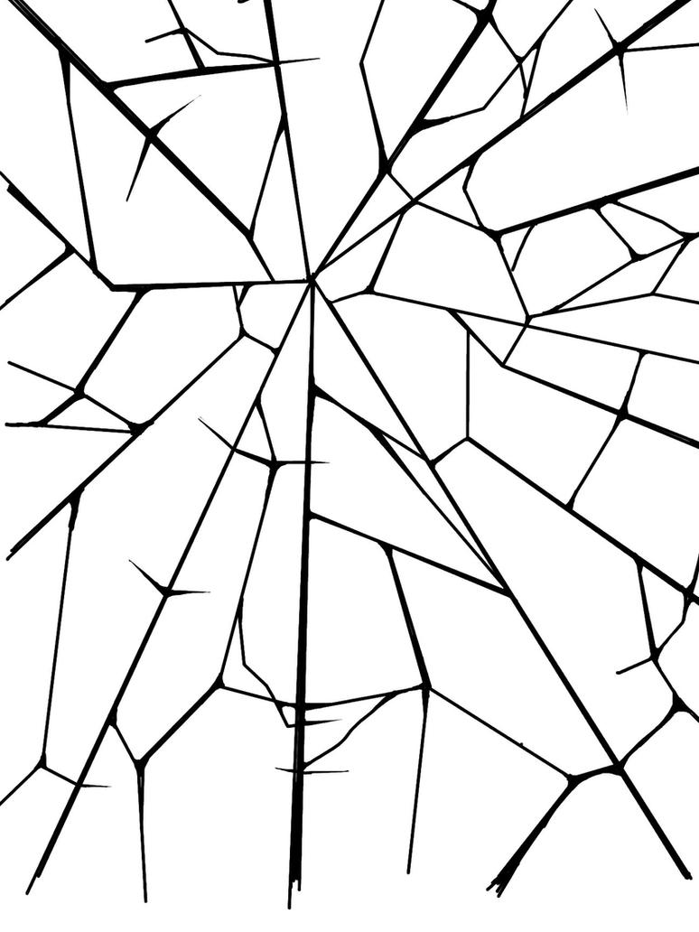 Drawing Glass Shards