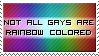 Rainbow Colored Stamp by SparkLum