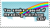 Pound of Rainbow Stamp by SparkLum