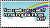 Pound of Rainbow Stamp by SparkLum