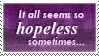 Hopeless Stamp by SparkLum