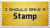 Should Make Stamp by SparkLum