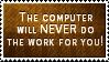 Computer Work by SparkLum