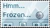 Frozen dAmn Stamp by SparkLum