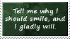 Why Smile Stamp by SparkLum