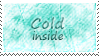 Cold Inside Stamp by SparkLum