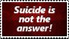 Suicide Stamp by SparkLum