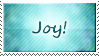 Joy Stamp by SparkLum
