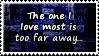 Love Too Far Stamp by SparkLum