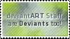Deviant Staff Stamp by SparkLum