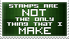Not Just Stamps by SparkLum