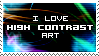 High Contrast Stamp by SparkLum