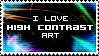 High Contrast Stamp by SparkLum