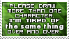 More than One Character Stamp by SparkLum