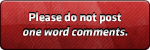 DB3 - One Word Comments