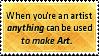 Artist Anywhere by SparkLum