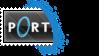 Portal Stamp - Blue