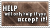 Accept Help Stamp by SparkLum