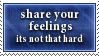 Share Feelings Stamp by SparkLum