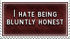 Bluntly Honest Stamp by SparkLum