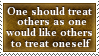 The Golden Rule Stamp