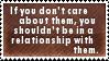 Careless Relationship Stamp by SparkLum
