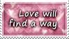 Love Will Find A Way Stamp by SparkLum