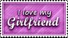 Girlfriend Stamp by SparkLum