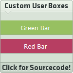 Green and Red Bars by SparkLum