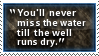 Water Well Stamp
