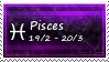 Pisces Stamp by SparkLum