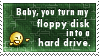 Floppy Disk Stamp by SparkLum