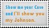 Cave Johnson Stamp by SparkLum