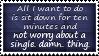 Worry Free Stamp by SparkLum