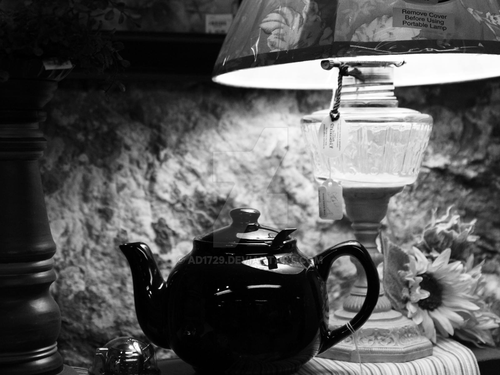 Teapot In Black And White By Ad1729 On Deviantart
