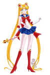 what if Sailor Moon's new design