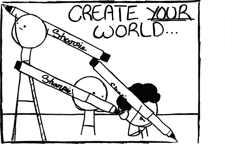 Create your world by hsproductions on deviantart - Create your world ...