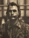 Heath Ledger - Joker by Fruksion
