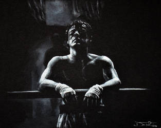 Sylvester Stallone as Rocky by Fruksion