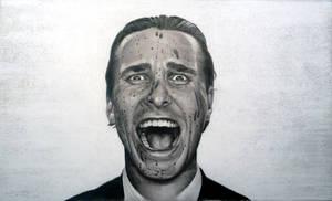 Christian Bale (American Psycho) by Fruksion