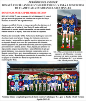 BOYACA CHICO F.C. - PRESS LETTER 29-09-2019