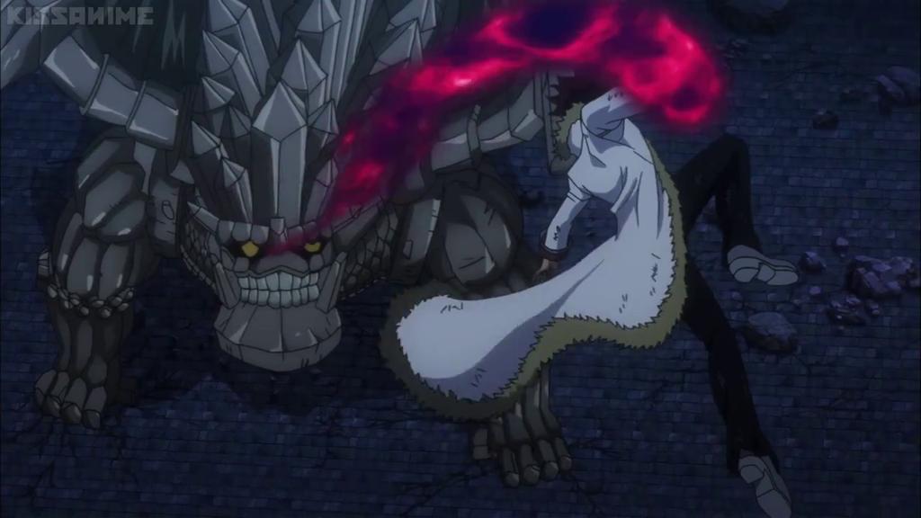 Fairy tail cap 195: Cobra vs Rock dragon. by diebitch2947