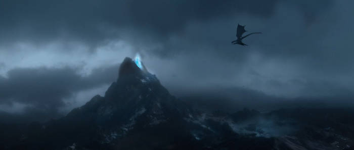 Elsa's Ice Palace in the Lonely Mountain