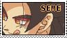 SemeG stamp by Veggie-n-roses