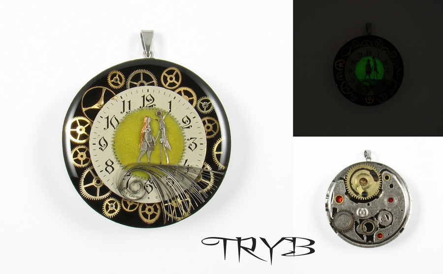 Nightmare Before Christmas - medallion by TRYBcomPL