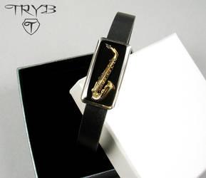 Saxophone bacelet