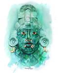Calakmul Mask