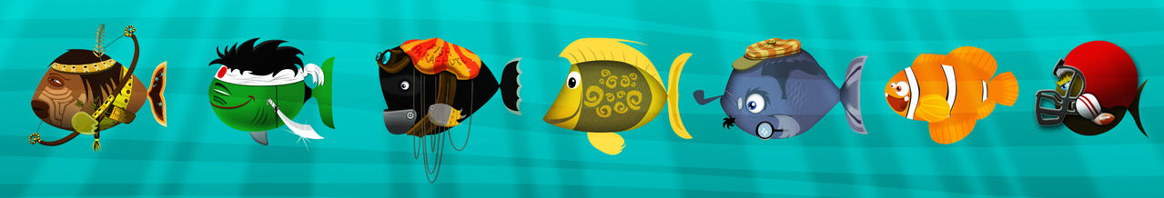 The Fishes by sercantunali