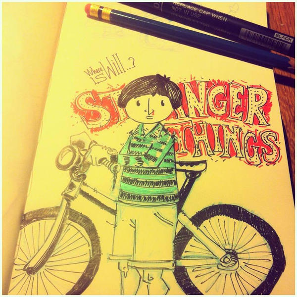 Stranger Things Tv Series by sercantunali